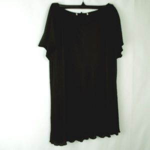 Tops - Lined Black Blouse